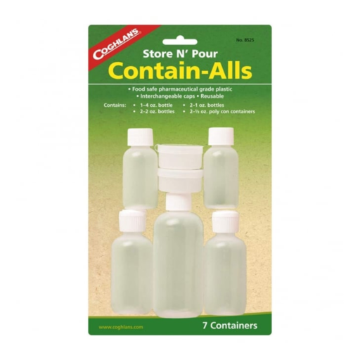 Coghlans Reusable Travel Bottles
