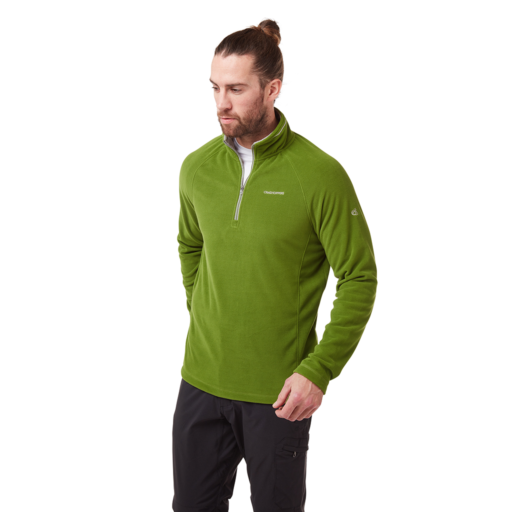 Craghoppers Men's Corey V Half Zip – Agave Green