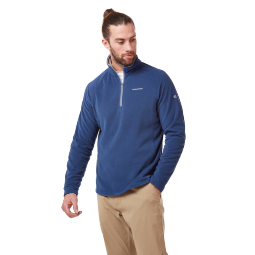 Craghoppers Men's Corey V Half Zip – Lapis Blue