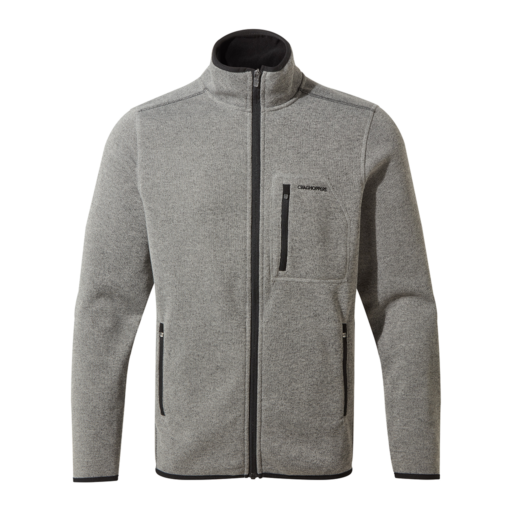 Craghoppers Men's Etna Jacket – Soft Grey Marl / Dark Grey