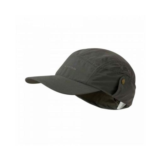Craghoppers Nosilife Desert Hat – Dark Khaki