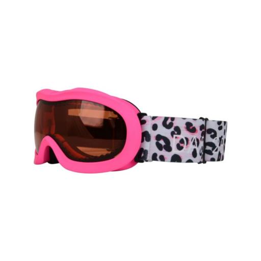 Dare 2b Kid's Velose II Ski Goggles – White Animal