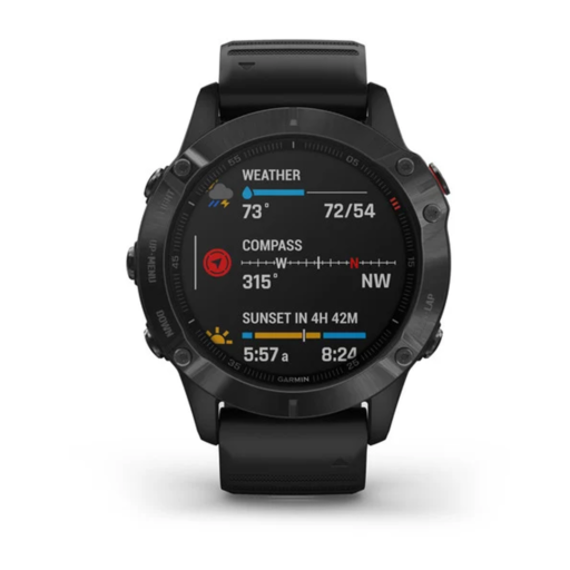 Garmin Fenix 6 Pro GPS Watch – Black