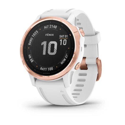 Garmin Fenix 6 Pro GPS Watch – Small – Rose Gold