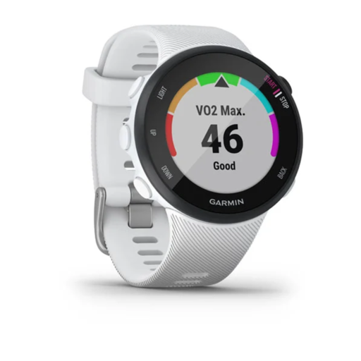 Garmin Forerunner 45 GPS Watch – Small – White
