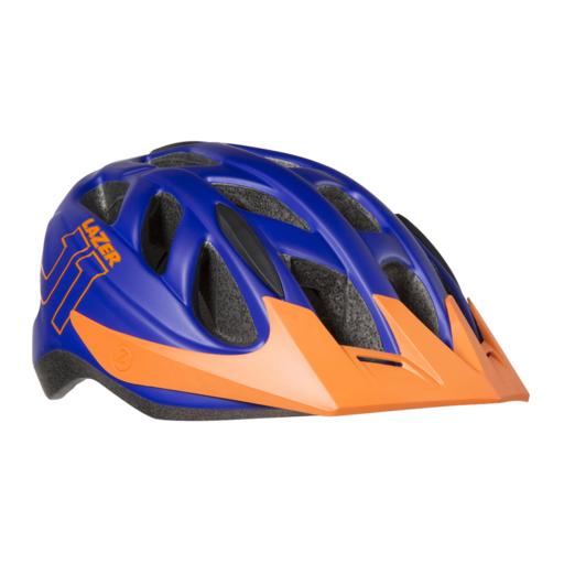 Lazer J1 Youth Helmet – Blue / Orange
