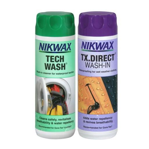 Nikwax Twin Tech Wash / TX Direct Wash-In – 2 x 300 ml