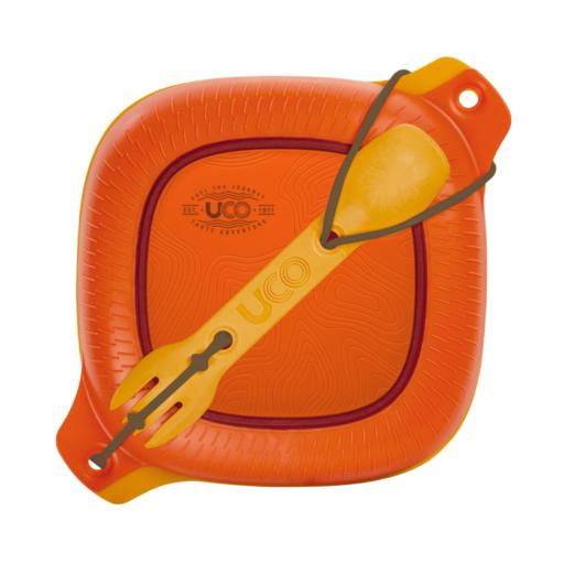 UCO Mess Kit – 4 Piece – Orange
