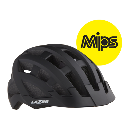 Lazer Compact dlX MiPS Helmet – Black