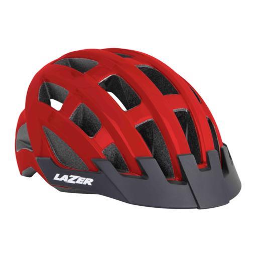 Lazer Compact Helmet – Red
