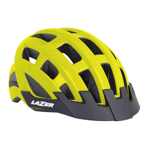 Lazer Compact Helmet – Flash Yellow
