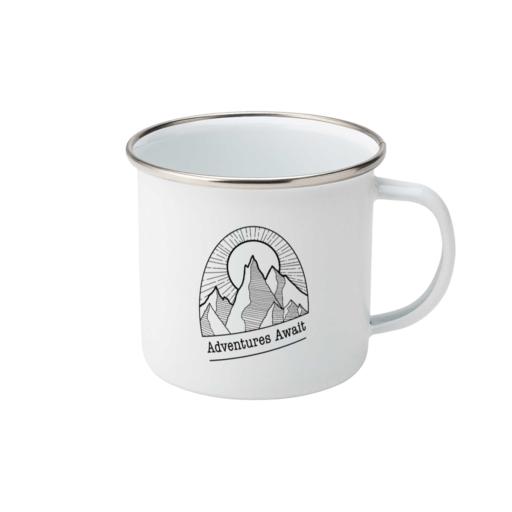 Project X Original Adventures Await Enamel Mug