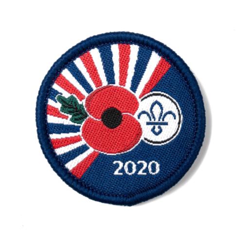 Poppy Appeal 2020 Woven Commemorative Badge