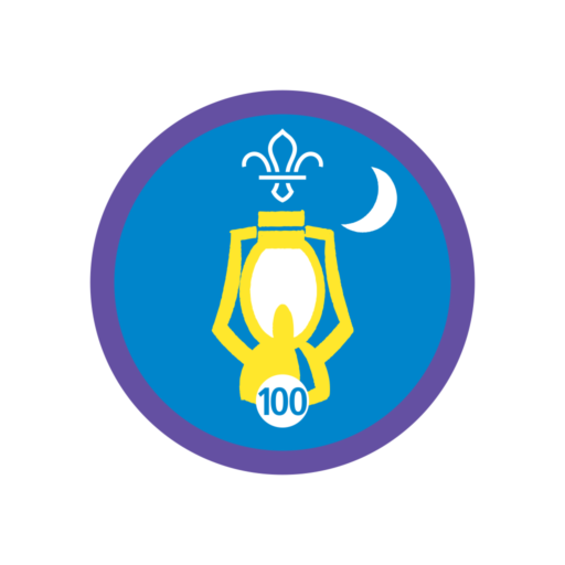 Nights Away Stage 100 Staged Activity Badge