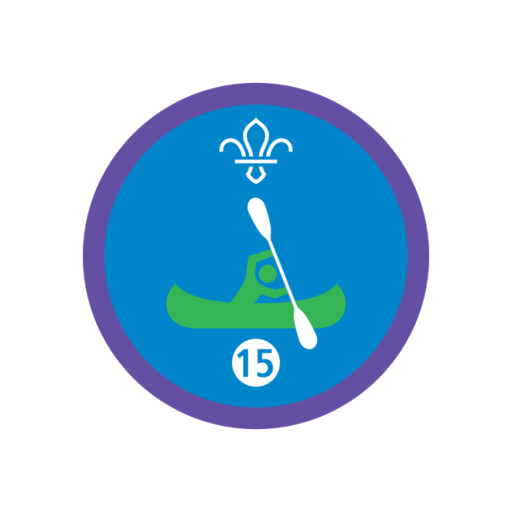 Time on the Water Stage 15 Staged Activity Badge