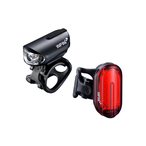 Infini Olley Light Set Micro USB Front and Rear Lights