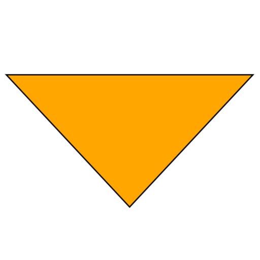 Plain Background Necker – Adult – Bright Orange