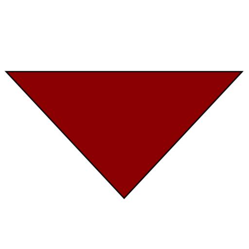 Plain Background Necker – Adult – Dark Red