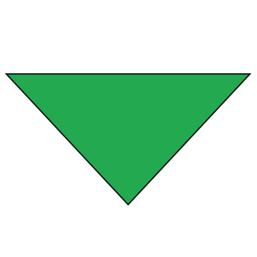Plain Background Necker – Adult – Green