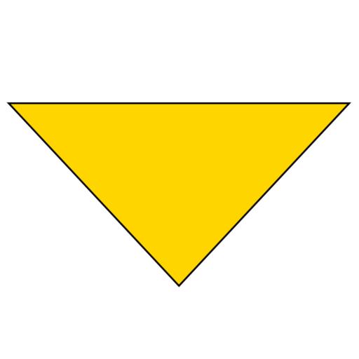 Plain Background Necker – Adult – Lemon