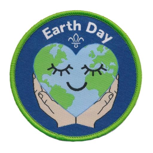 Earth Day Woven Fun Badge