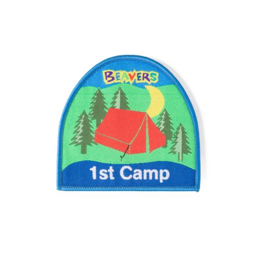 Beavers 1st Camp Fun Badge