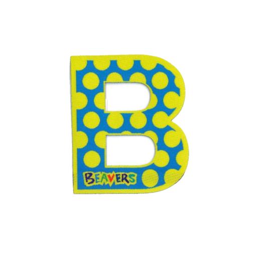 Beavers Letter B for Beavers Fun Badge