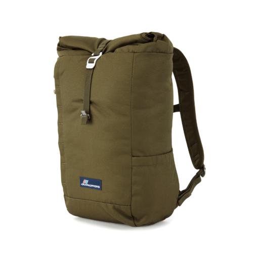 Craghoppers 20L Kiwi Classic Rolltop Backpack – Woodland Green