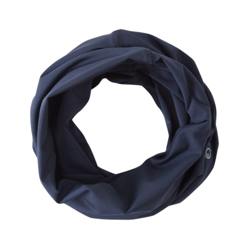 Craghoppers HEIQ Viroblock Neck & Face Scarf – Blue Navy Marl