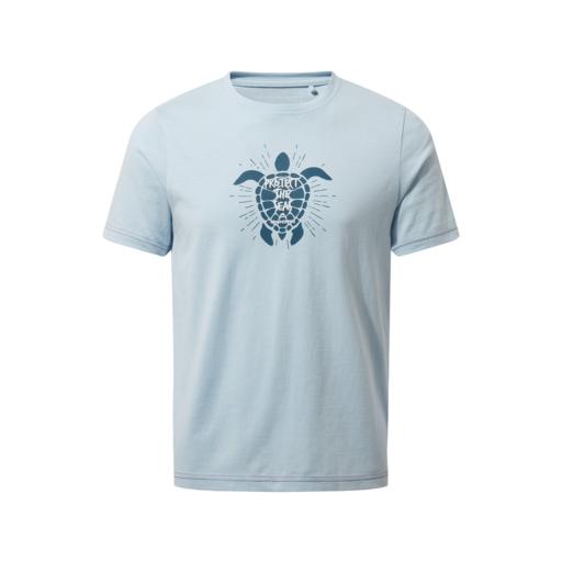 Craghoppers Kid's Gibbon Short Sleeved T-Shirt – Harbour Blue Turtle