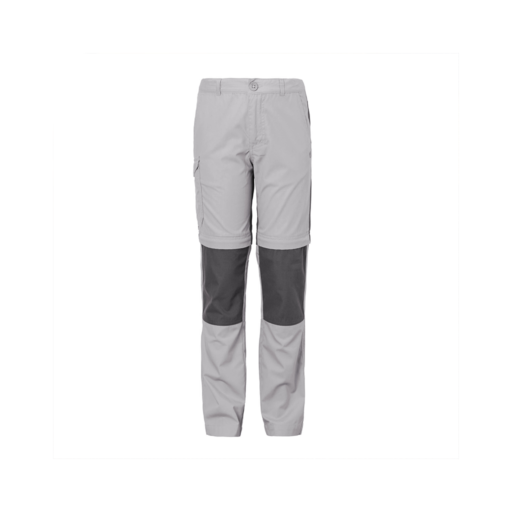 Craghoppers Kid's Kiwi Cargo Convertible Trousers – Cement