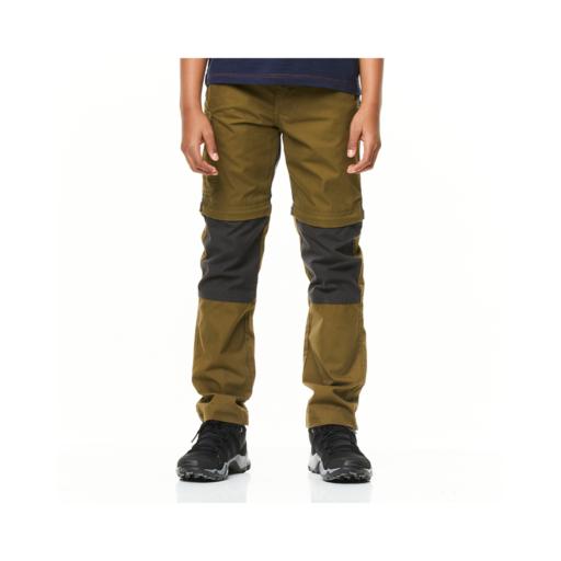 Craghoppers Kid's Kiwi Cargo Convertible Trousers – Dark Moss