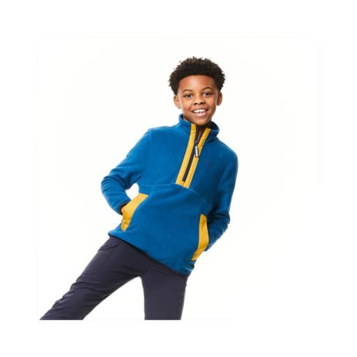 Craghoppers Kid's Norcross Half Zip – Poseidon Blue