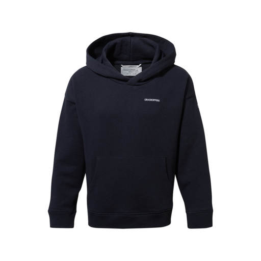 Craghoppers Kid's NosiBotanical Madray Hooded Top – Blue Navy