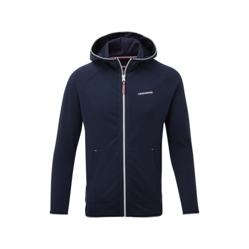 Craghoppers Kid's NosiLife Symmons Hooded Jacket – Blue Navy