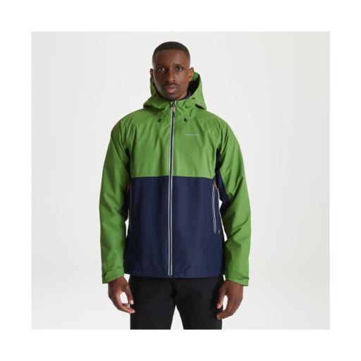 Craghoppers Men's Atlas Jacket – Agave Green / Blue Navy