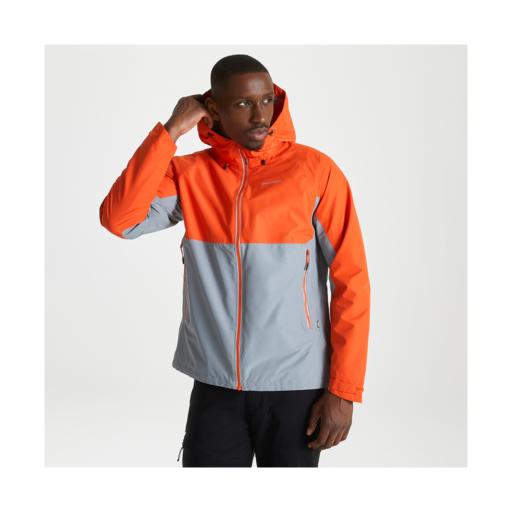 Craghoppers Men's Atlas Jacket – Marmalade / Cloud Grey