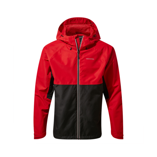Craghoppers Men's Atlas Jacket – Sriracha / Black