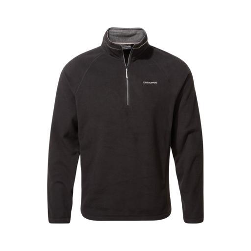 Craghoppers Men's Corey VI Half Zip Fleece – Black