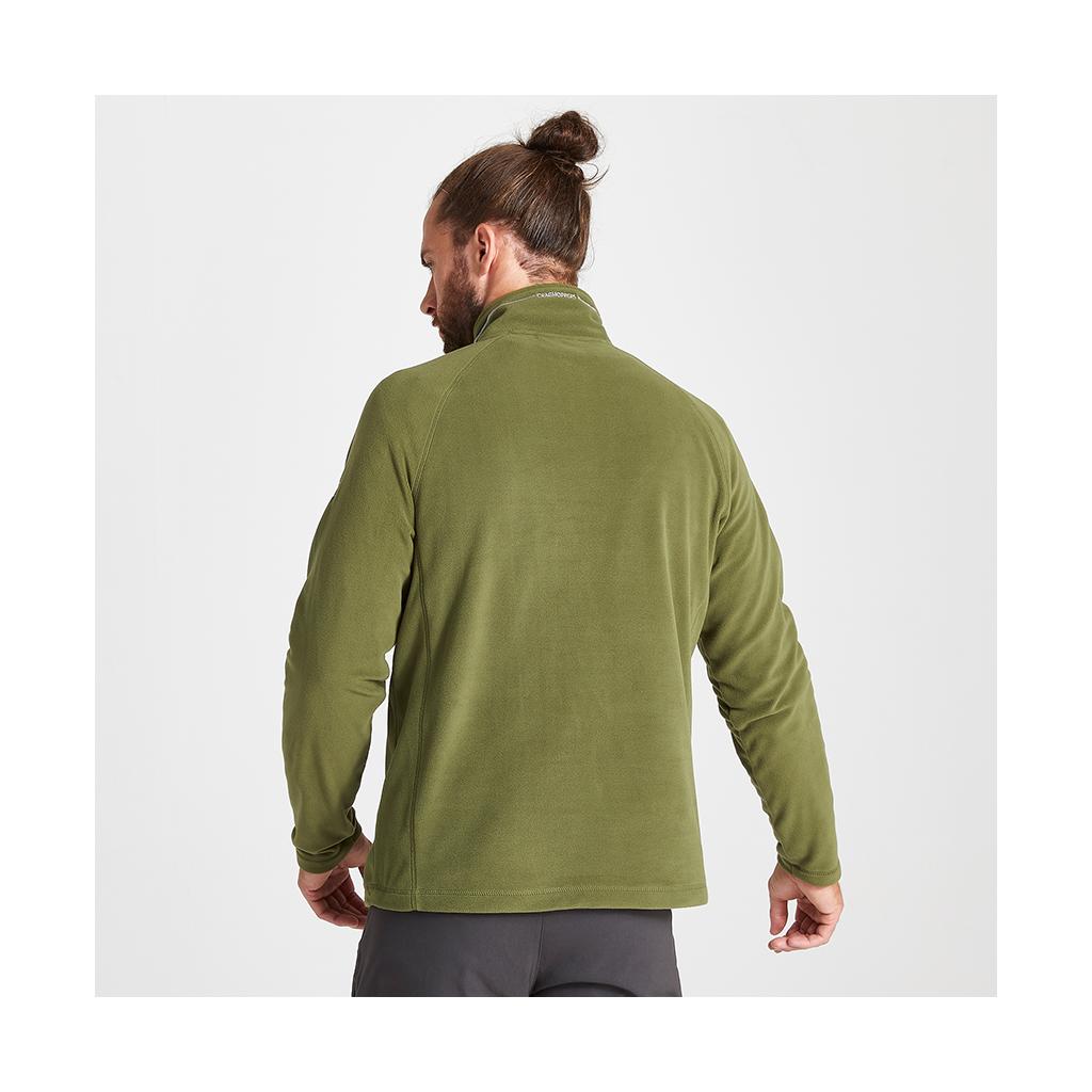 Craghoppers Men's Corey VI Half Zip Fleece - Bottle Green
