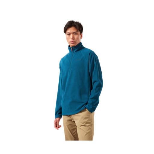 Craghoppers Men's Corey VI Half Zip Fleece – Poseidon Blue