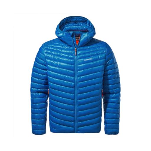 Craghoppers Men's Expolite Hooded Jacket – Avalanche Blue