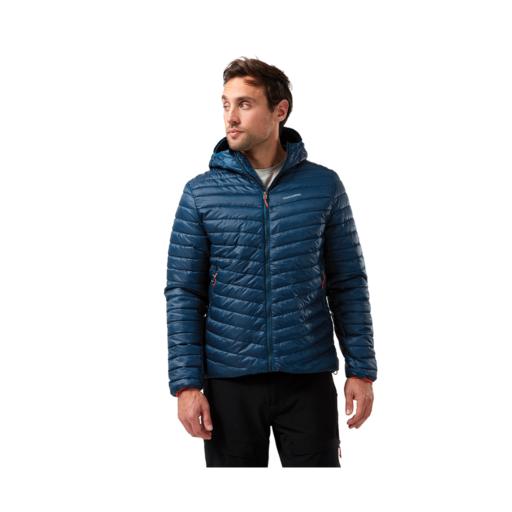 Craghoppers Men's Expolite Hooded Jacket – Poseidon Blue