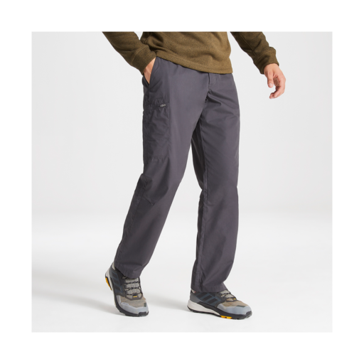Craghoppers Men's Kiwi Boulder Trousers – Long – Black Pepper