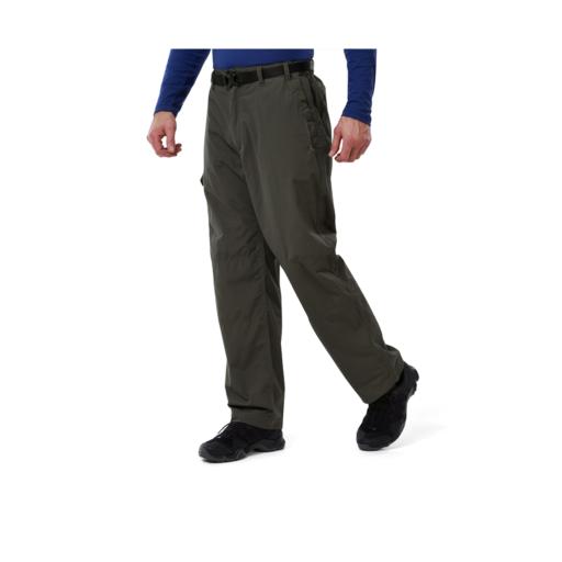 Craghoppers Men's Kiwi Classic Trousers – Long – Bark