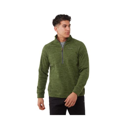 Craghoppers Men's Stromer Half Zip Fleece – Agave Green