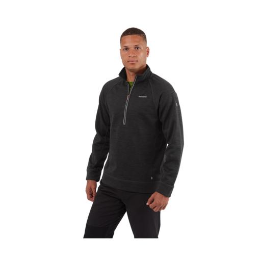 Craghoppers Men's Stromer Half Zip Fleece – Black