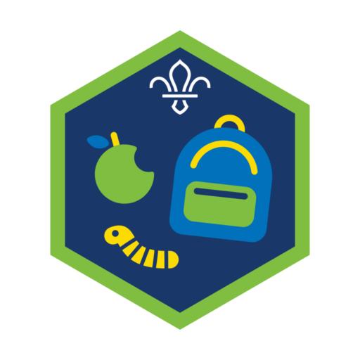 Squirrels All Adventure Challenge Award Badge