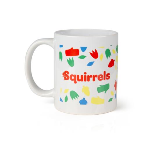 Squirrels Ceramic Mug Scouting Gift