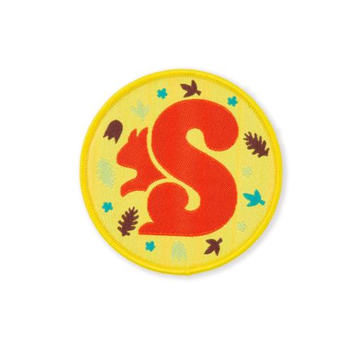 Squirrels I'm a Squirrel Fun Badge